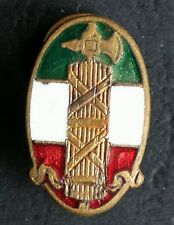 EARLY TYPE 1° PARTY ENAMELLED P.N.F. 1919/23 BADGE PARTITO NAZIONALE FASCISTA #3