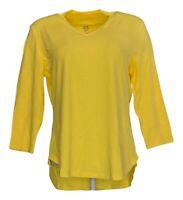 Isaac Mizrahi Live! Essentials Women's V-Neck 3/4-Sleeve Shirt (Pink, S) A349957