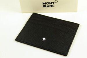 Montblanc Westside Visiten-Karten,-Kreditkarten-Etui Leder Ausweisetui Neu