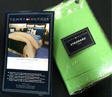 TOMMY HILFIGER CHINO Standard Sham Pillow Cover Sham NEW
