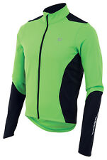 Pearl Izumi Select Thermal Long Sleeve Bike Jersey Green Flash/Black - Medium