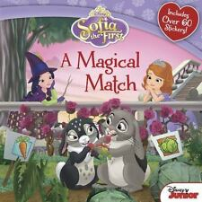 Sofia the First a Magical Match by Disney Book Group Staff (2014, Paperback)
