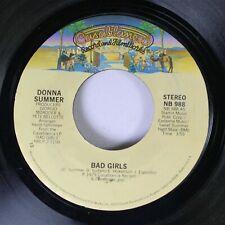 Soul 45 Donna Summer - Bad Girls / On My Honor On Casablanca