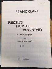 Trumpet Voluntary Solo Sheet Music for Bb Trumpet