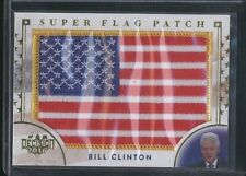 2016 Decision BILL CLINTON Super Flag Patch USA