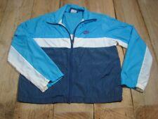 VINTAGE NIKE Blue Tag Windbreaker Jacket 1980s - Super Light -Carolina
