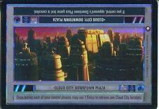 Star Wars CCG Reflections I Foil Card Cloud City : Downtown Plaza