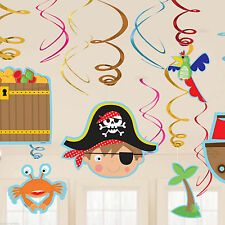 Foil Birthday, Child Pirates Party Decorations