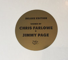 Jimmy Page Chris Farlowe Autographed CF & The Thunderbirds The Begining... LP CD
