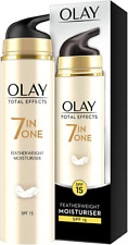 Olay Total Effects 7-in-1 Anti-Ageing Featherweight Moisturiser with SPF15