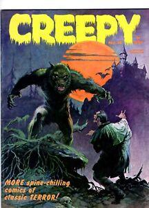 Creepy #4 (Warren Publishing 1965) Frank Frazetta Cover ~ Jack Davis-NICE!! NR!!