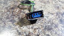 chrysler dodge jeep connector socket turn signal amber park oem a389