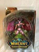 World of Warcraft Amberlash Action Figure DC Unlimited New On Card Sealed