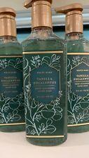 3 BATH & BODY WORKS VANILLA EUCALYPTUS  DEEP CLEANSING HAND SOAP 8 OZ