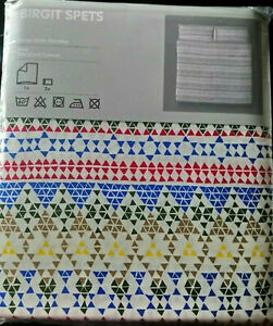IKEA Birgit Spets KING Duvet Cover and Pillowcases Set NORDIC Scandinavian
