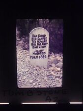Slide Tombstone Arizona OK Corral Boot hill Graveyard marker Dan Donald Howard