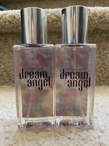 Lot Of 2 VICTORIAS SECRET DREAM ANGEL BODY MIST FRAGRANCE SPRAY Travel Size