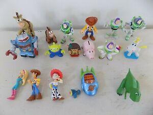 Lot 17+ Disney Pixar Toy Story 1 2 3 PVC Figures Cake Toppers