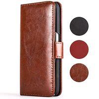Snakehive® Samsung Galaxy S6 Premium Leather Folio Wallet Flip Case w/Card Slots