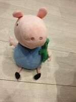"Peppa Pig Brother George TY Beanie 12"" Plush George Cuddly toy 2009"