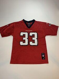 Reebok Nfl Atlanta Falcons Football Michael Turner #33 Kids Jersey Red Size L