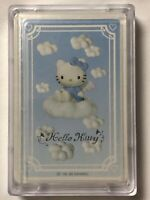 1999 Sanrio HELLO KITTY Blue Angel Wings Deck of Playing Cards! VINTAGE! SEALED!