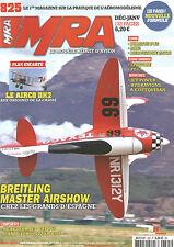 MRA N°825 PLAN : LE AIRCO DH2 / BREITLING MASTER AIRSHOW / REACTEUR JET CAT P60