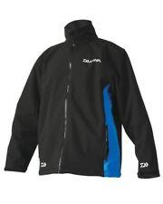 Daiwa Softshell Jacket Black / BLUE EXTRA EXTRA  large   DSSJBB-XXL RRP£59.99