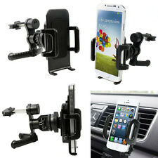 360°Car Air Vent Mount Cradle Holder Stand Universal For Mobile Smart Phone GPS