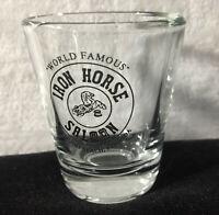 World Famous Iron Horse Saloon Ormond Beach Florida Short Shotglass shot glass
