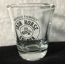 World Famous Iron Horse Saloon Ormond Beach Florida Short Shotglass shot glass