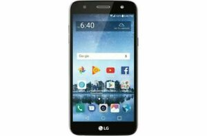LG Fiesta 2 (LGL163BL) 16GB - Smoke Gray (SIMPLE MOBILE)