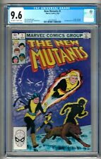 """New Mutants #1 (1983) CGC 9.6  OW/W Pages  Claremont - McLeod  """"Karma"""""""