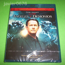 ANGELES Y DEMONIOS BLU-RAY NUEVO Y PRECINTADO TOM HANKS