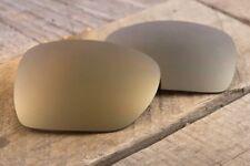 Metallic Copper Dark Bronze Mirrored Sunglass Lenses for Oakley Crosshair 2012