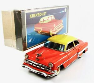 "1954 Marusan Chevrolet BelAir 11"" (28 cm) Japanese Tin Car   NR"