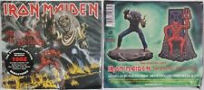 IRON MAIDEN: NUMBER OF THE BEAST CD DELUXE NEW SEALED PATCH FIGURINE READ ALL