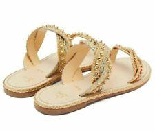 Christian Louboutin Normandie Mules Sandals Studs Slides Shoes Shoe 37