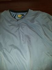 Cabela's Mens XL Regular Blue V-Neck Pull Over Jacket