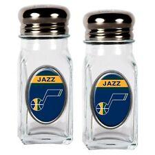 Utah Jazz Nba Salt And Pepper Shaker Set With Crystal Coat