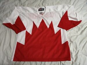 Rare Vintage team 1972 summit series team Canada CCM jersey men L