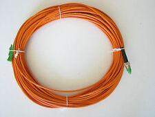 Suhner Fiberoptic 1x9/125 single mode - Optische Kabel E2000/APC - FC/PC Steck.