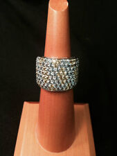 18KWG Peridot & Blue Topaz Ring