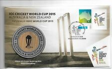 New listing PNC Special ICC Cricket World Cup Medallion Cover 30 March 2015 No 0242 of 3500