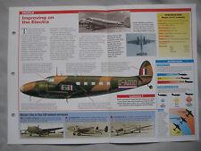 Aircraft of the World Card 93 , Group 2 - Lockheed 18 Lodestar