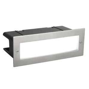 Stainless Steel 5W LED Brick Light IP54 Garden Wall Pathway Lighting 3500K