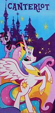 My Little Pony Beach Towel measures 28 x 58 inches