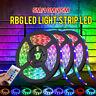 5/10/15M 30LED/M 5050 RGB LED STRIP LIGHTS COLOUR CHANGING FLEXBILE TAPE 12V