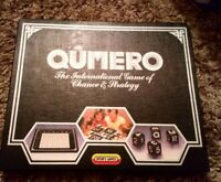 Vintage 1985 Qumero - The International Game Of Chance & Strategy - Spears Games