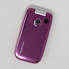 Sony Ericsson Z610i 3G - Flip Phone - Pink - Good Condition - Three - Fast P&P